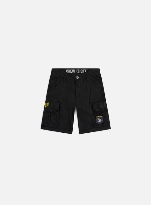 Outlet e Saldi Pantaloncini Alpha Industries Patch Crew Shorts