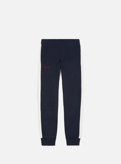 pantaloni australian elio felpa pant blu navy