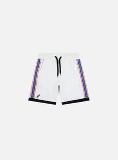 Australian - Felpa Banda Shorts, Bianco