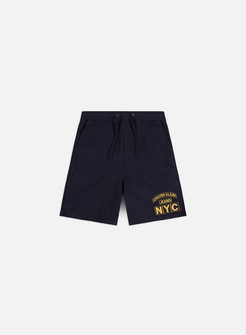 Outlet e Saldi Pantaloncini Corti Calvin Klein Jeans CK Varsity Short