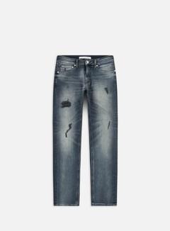 Calvin Klein Jeans - CKJ 026 Slim Pant, Rhein Blue Black Dstr