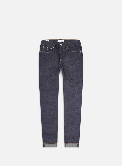 Sale Outlet Pants Calvin Klein Jeans CKJ 058 Slim Tapered Selvedge Pant