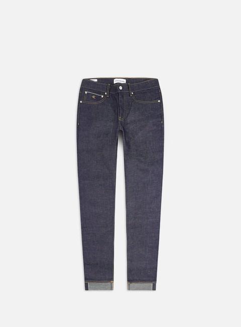 Pantaloni Lunghi Calvin Klein Jeans CKJ 058 Slim Tapered Selvedge Pant