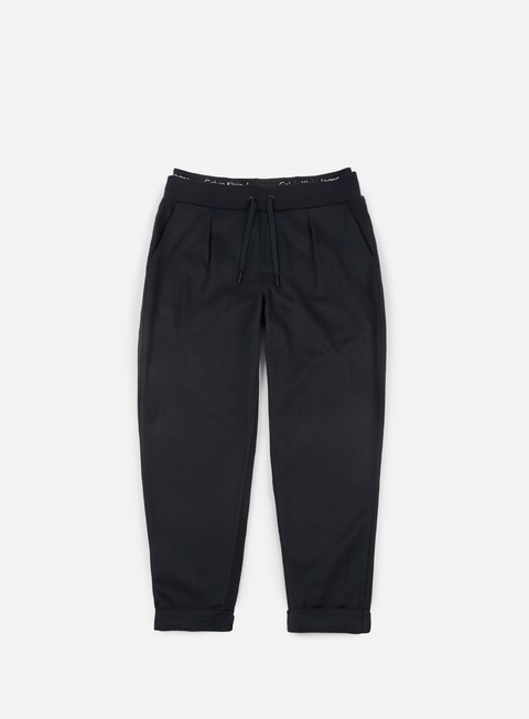 pantaloni calvin klein jeans halfon slim jogging pant ck black