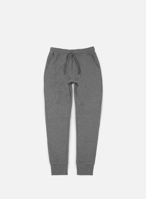 pantaloni calvin klein jeans homer 4 jogging pant mid grey heather