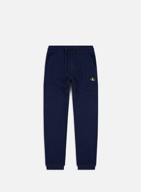 Outlet e Saldi Tute Calvin Klein Jeans Indigo Jogging Pants