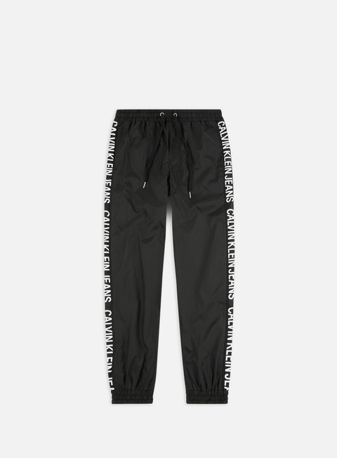 Sale Outlet Sweatpants Calvin Klein Jeans Institutional Stripe Nylon Pant