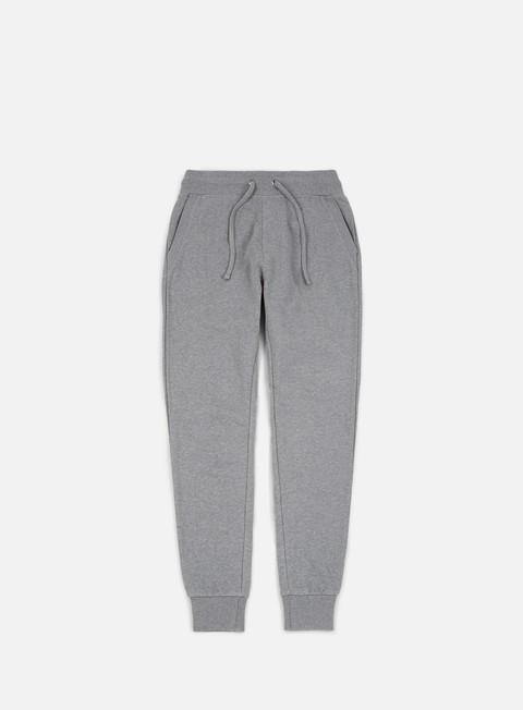pantaloni calvin klein jeans monogram logo sweatpant grey heather