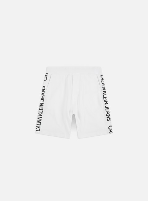 Sale Outlet Shorts Calvin Klein Jeans Side Institutional Shorts