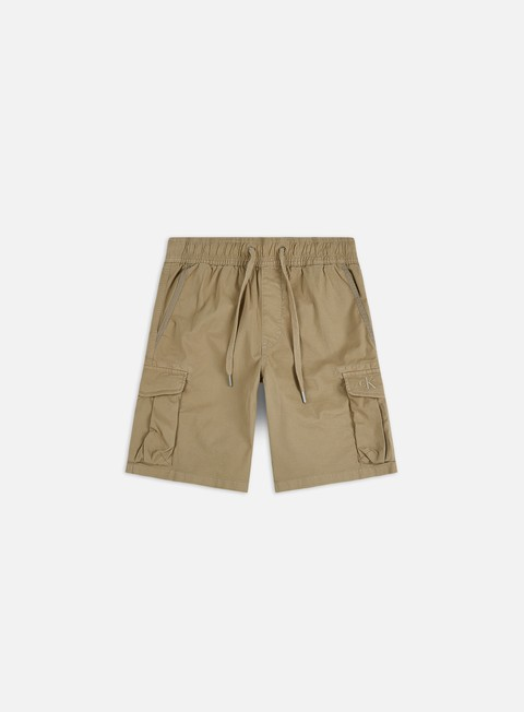 Sale Outlet Shorts Calvin Klein Jeans Simple Washed Cargo Shorts