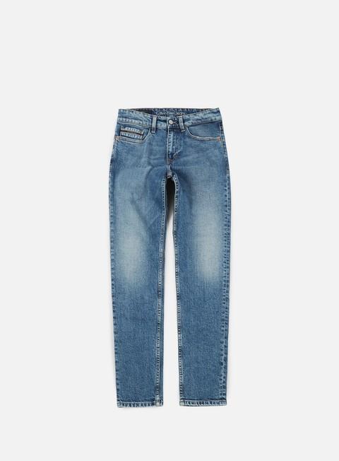 pantaloni calvin klein jeans skinny pant isolation blue