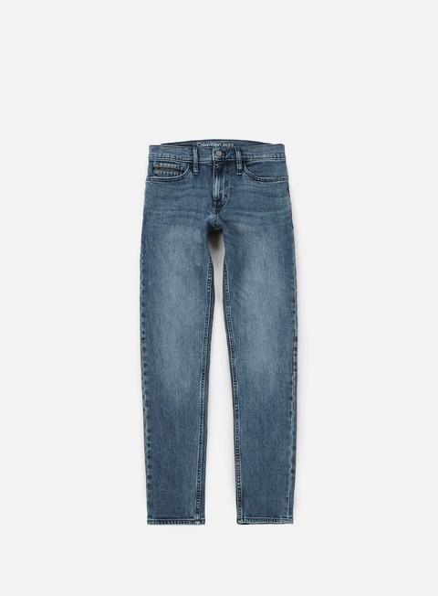 pantaloni calvin klein jeans skinny pant keanue blue