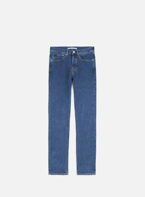 pantaloni calvin klein jeans skinny rigid pant christiane blue