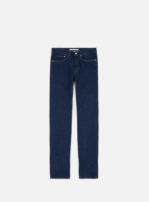 pantaloni calvin klein jeans skinny rigid pant rinse