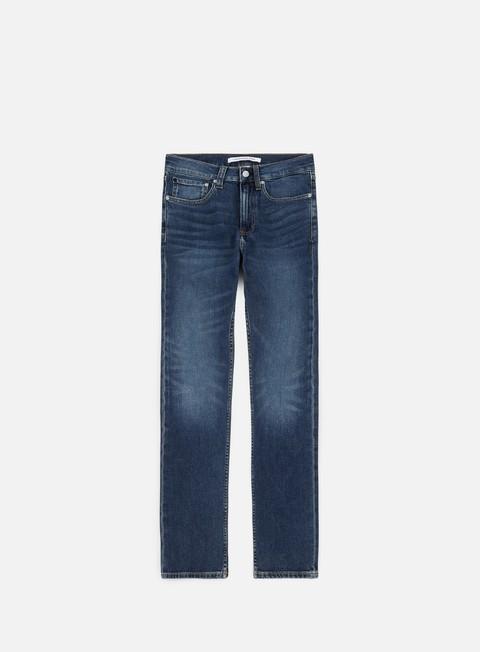pantaloni calvin klein jeans skinny west pant alamere blue