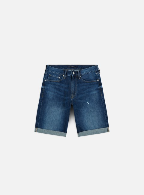 Outlet e Saldi Pantaloncini Calvin Klein Jeans Slim Shorts