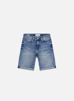 Calvin Klein Jeans - Slim Shorts, Light Blue