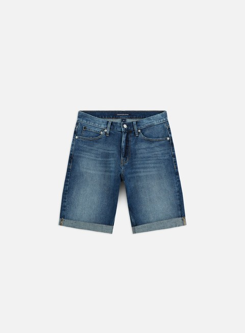 Outlet e Saldi Pantaloncini Corti Calvin Klein Jeans Slim Shorts
