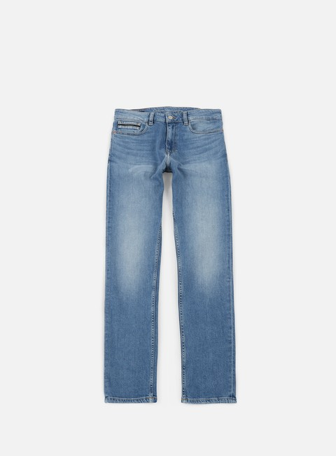 pantaloni calvin klein jeans slim straight pant banshe