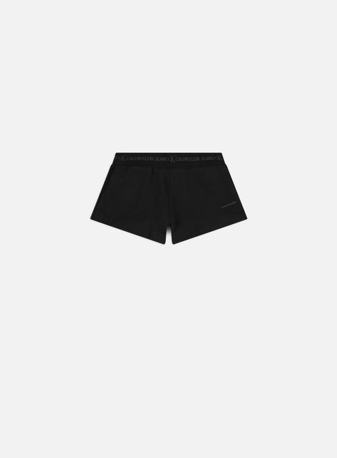 Calvin Klein Jeans WMNS Logo Trim Knit Shorts
