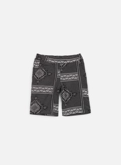 Carhartt - Assyut Sweat Short, Assyut Print Black/White 1