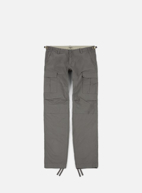 pantaloni carhartt aviation pant ripstop air force grey rinsed