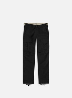 Carhartt - Aviation Pant Ripstop, Black Rinsed