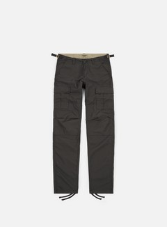 Carhartt - Aviation Pant Ripstop, Blacksmith Rinsed