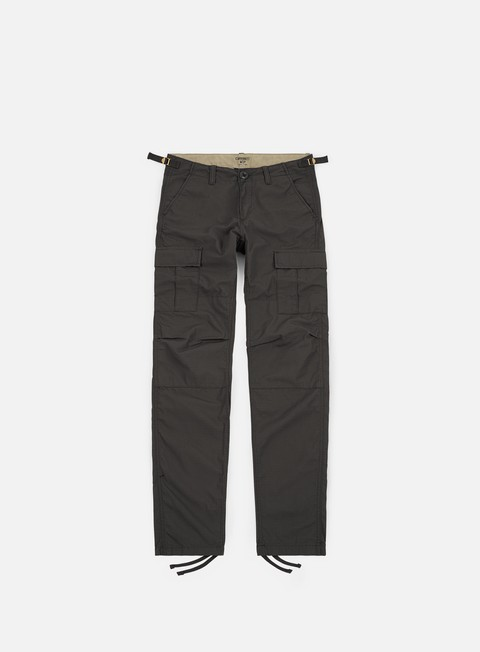 pantaloni carhartt aviation pant ripstop blacksmith rinsed