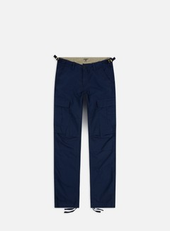 Carhartt - Aviation Pant Ripstop, Blue Rinsed
