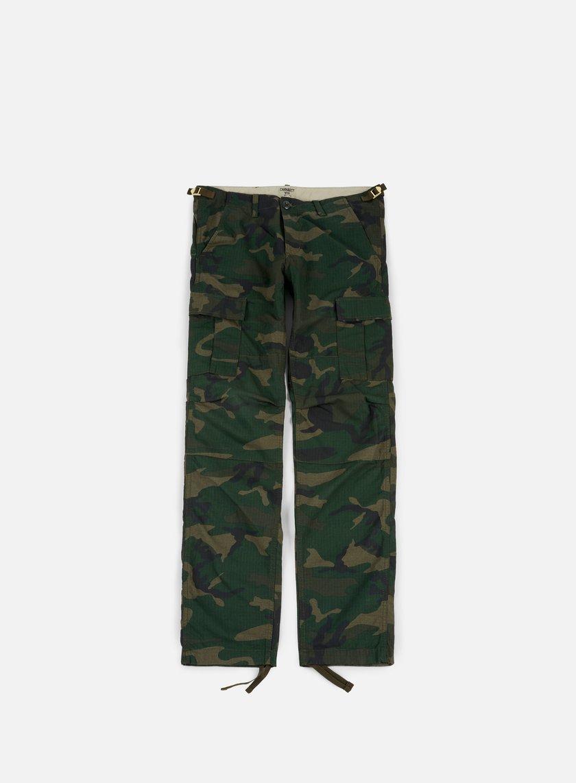 Carhartt - Aviation Pant Ripstop, Camo Combat Green