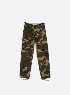Carhartt - Aviation Pant Ripstop, Camo Green 313 Rinsed 1