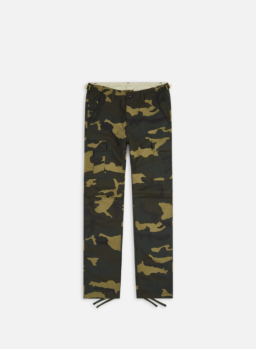 Carhartt - Aviation Pant Ripstop, Camo Laurel Rinsed