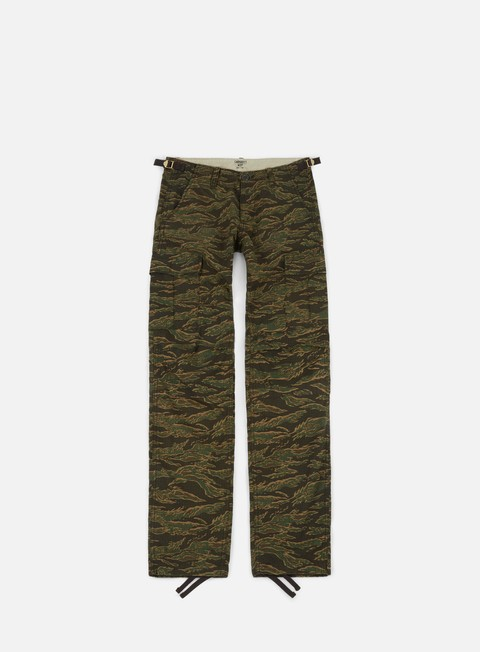 pantaloni carhartt aviation pant ripstop camo tiger laurel rinsed