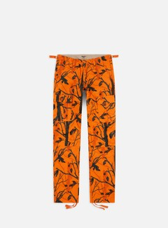 Carhartt - Aviation Pant Ripstop, Camo Tree/Orange Rinsed