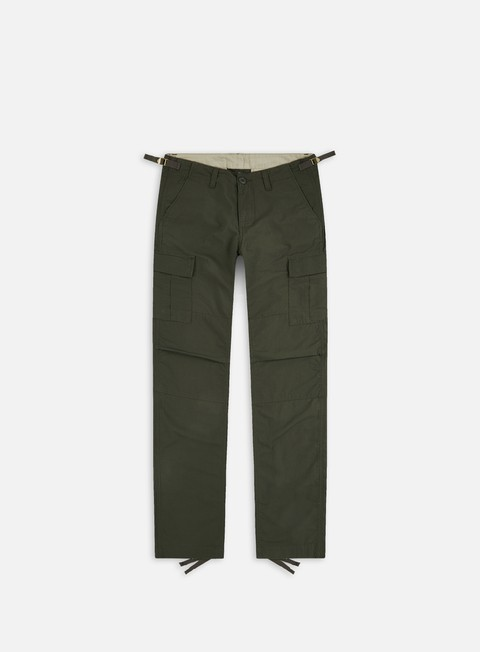 pantaloni carhartt aviation pant ripstop cypress rinsed