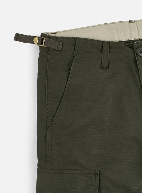 Pantaloni Ripstop da Uomo Carhartt Workwear Pantaloni-Nero Tutte le Taglie