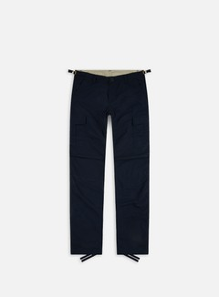Carhartt - Aviation Pant Ripstop, Dark Navy Rinsed