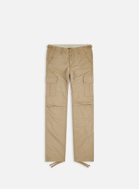 pantaloni carhartt aviation pant ripstop leather rinsed