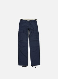 Carhartt - Aviation Pant Ripstop, Navy Rinsed