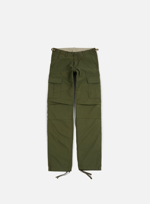 pantaloni carhartt aviation pant ripstop rover green