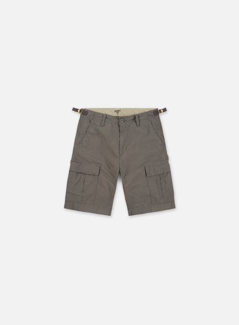 pantaloni carhartt aviation short air force grey rinsed