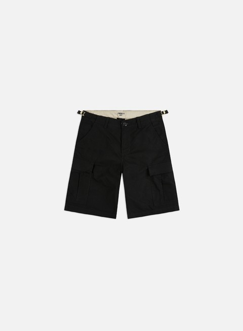 pantaloni carhartt aviation short black rinsed