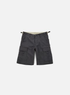 Carhartt - Aviation Short, Blacksmith Rinsed