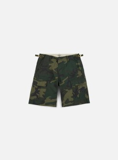 Carhartt - Aviation Short, Camo Combat Green Rinsed