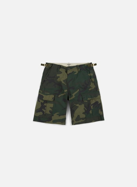 pantaloni carhartt aviation short camo combat green rinsed
