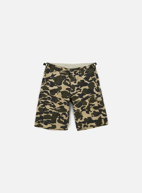 pantaloni carhartt aviation short camo duck