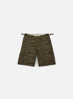 Carhartt - Aviation Short, Camo Tiger Laurel Rinsed
