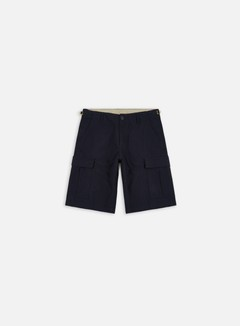Carhartt - Aviation Short, Dark Navy Rinsed 1