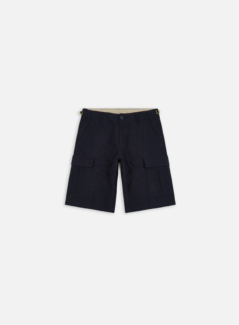 Carhartt - Aviation Short, Dark Navy Rinsed